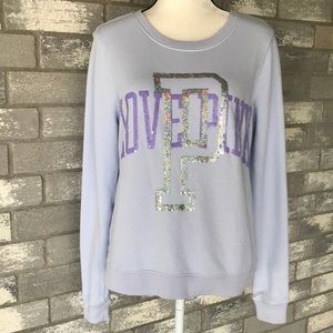 Pink by VS pullover sweat shirt size S/P